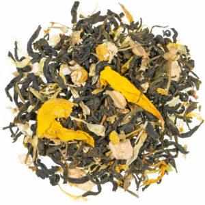 Tè verde ai fiori di provenza