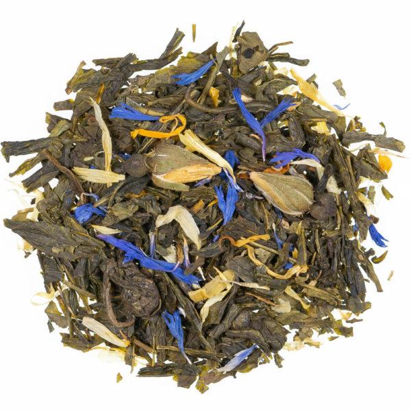 Tè verde rosa d'oriente
