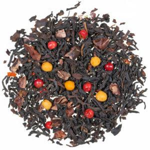 Tè nero cioccolato piccante